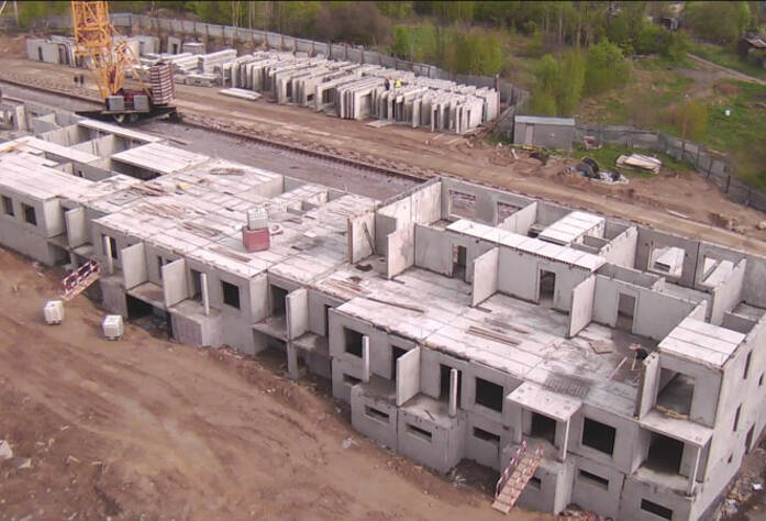 Строительство ЖК «Павловский» (12.05.2014 г.)