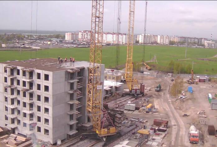 Строительство ЖК «Центральный» (12.05.2014 г.)