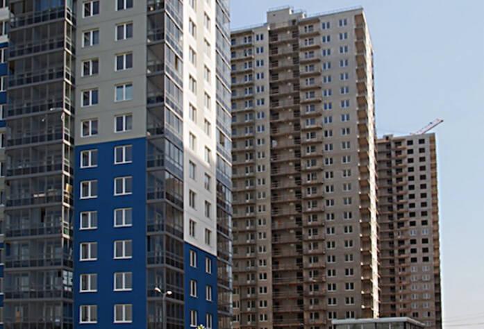 2 очередь жилого комплекса «Эланд» (май 2014)