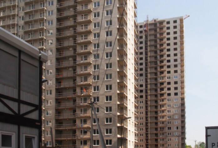 3 очередь жилого комплекса «Эланд» (май 2014)
