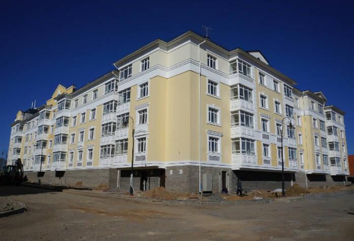 Строительство ЖК «Александровский», I очередь (апрель 2014 г.)