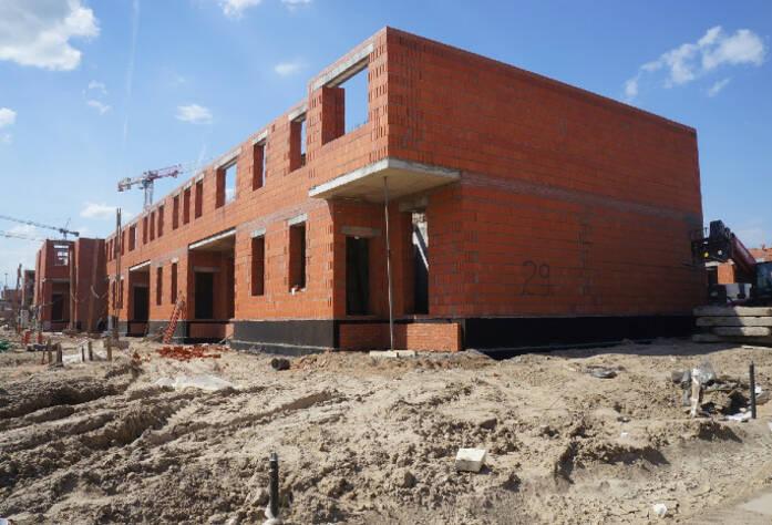 Строительство ЖК «Александровский», II очередь (май 2014 г.)