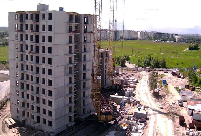 Строительство ЖК «Центральный» (17.06.2014) г.)