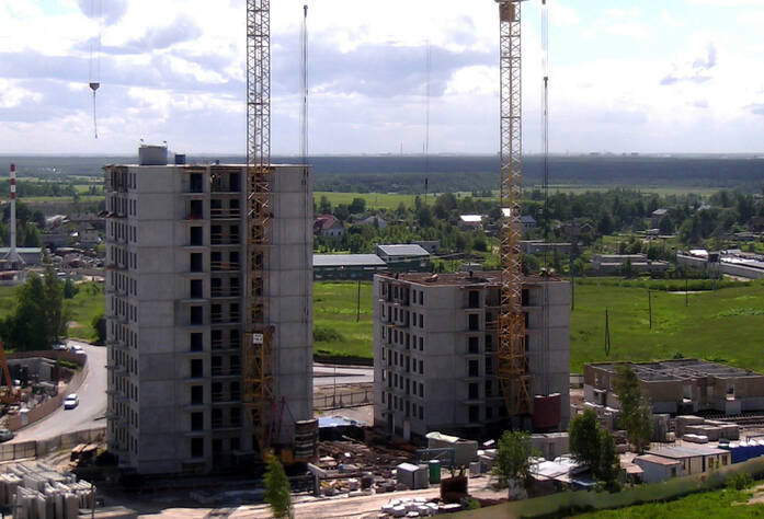 Строительство ЖК «Центральный» (17.06.2014)