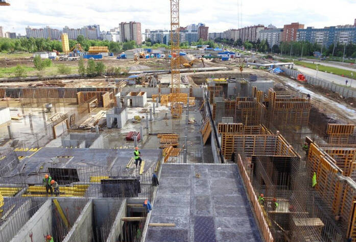 Строительство ЖК «Граффити»