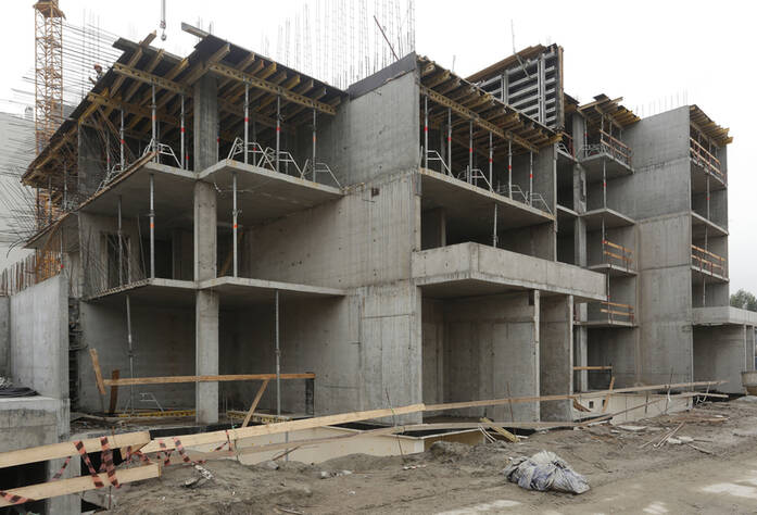 Строительная площадка ЖК «More» очередь 3 участок 29 (01.07.2014)
