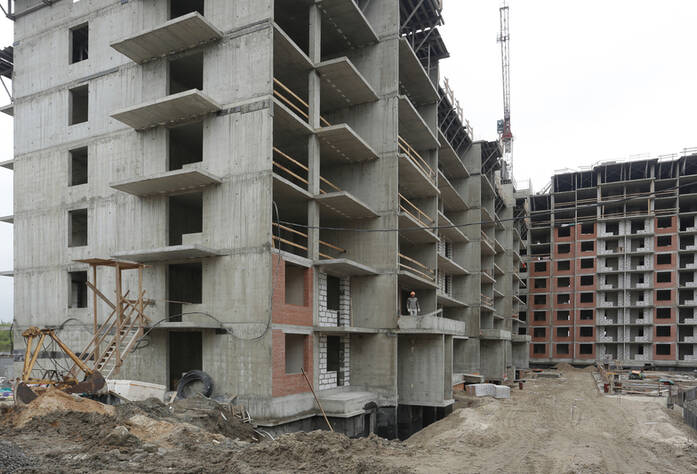 Строительная площадка ЖК «More» очередь 3 участок 31 (01.07.2014)