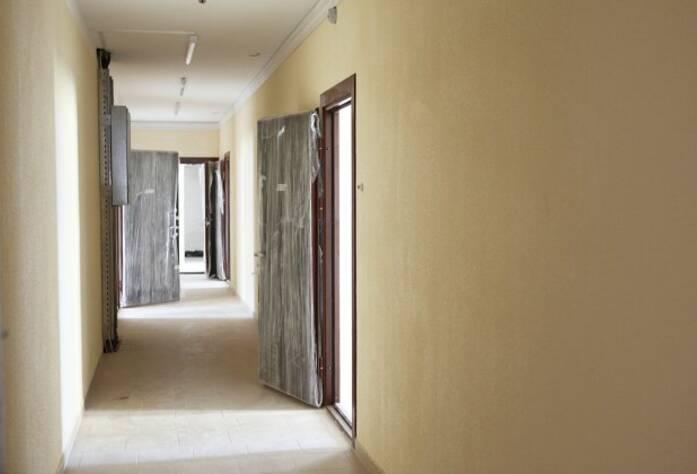 Отделка холлов в ЖК «Австрийский квартал» дом 2 (09.07.2014)