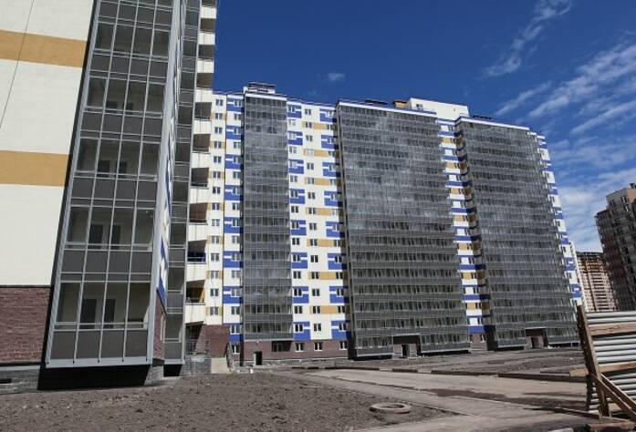 Фасад ЖК «Австрийский квартал» дом 2 (09.07.2014)