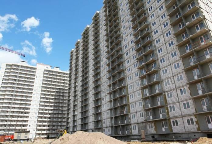 Строительная площадка ЖК «Австрийский квартал» дом 3 (09.07.2014)