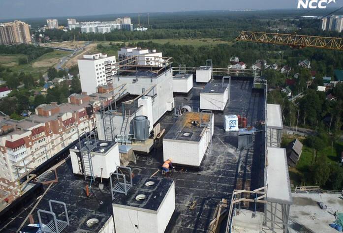 Строительство жилого комплекса «Эланд» 3 очередь (июль 2014)
