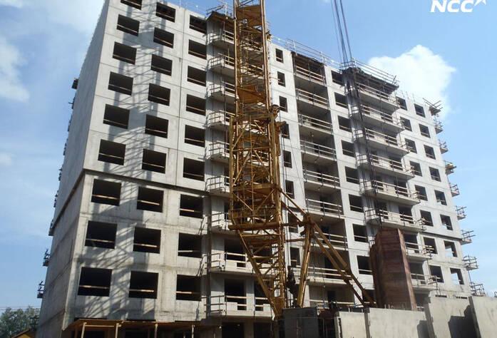 Строительство жилого комплекса «Эланд» 4 очередь (июль 2014)