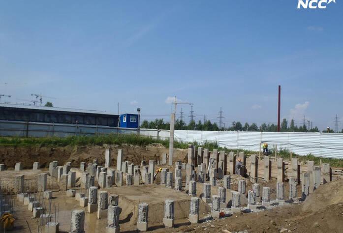 Строительство жилого комплекса «Эланд» 5 очередь (июль 2014)