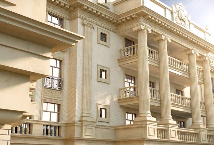 Визуализация ЖК «Hovard Palace». Внешний вид