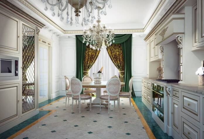 Визуализация ЖК «Hovard Palace». Квартира