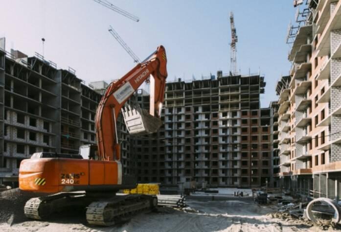 Строительство ЖК «More», июль 2014 г.