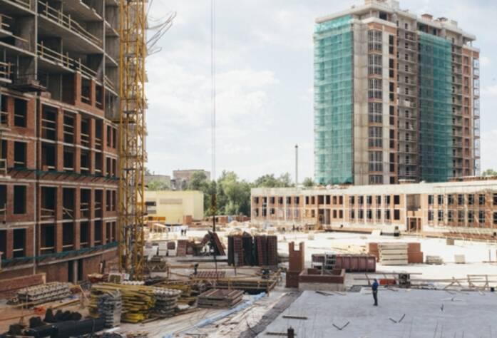Строительство ЖК «Riverside», корп. Г1, июль 2014 г.