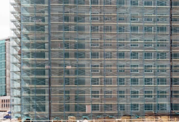 Строительство ЖК «Riverside», корп. Г3, июль 2014 г.