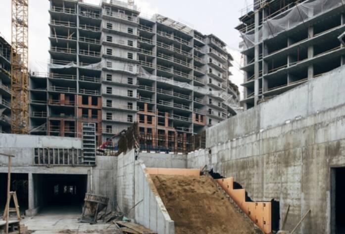 Строительство ЖК «Riverside», корп. Г5, июль 2014 г.