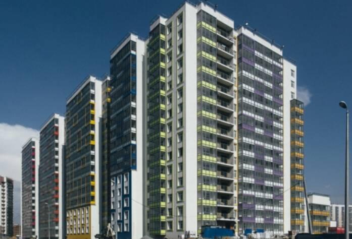 Строительство ЖК RIO, июль 2014 г.