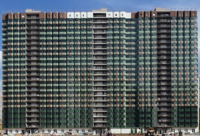 Строительство ЖК «GreenЛандия», корп. 5, июль 2014 г.