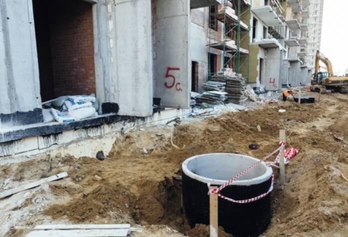 Строительство ЖК «GreenЛандия», корп. 7, июль 2014 г.