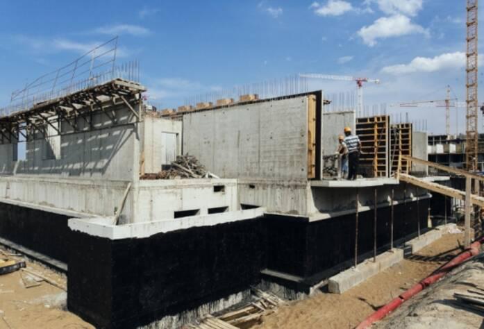 Строительство ЖК «GreenЛандия», корп. 9б, июль 2014 г.