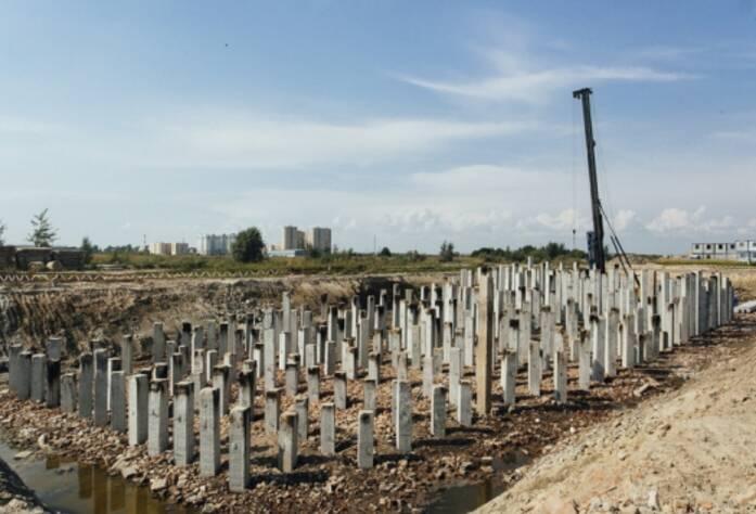 Строительство ЖК «GreenЛандия», корп. 10, июль 2014 г.