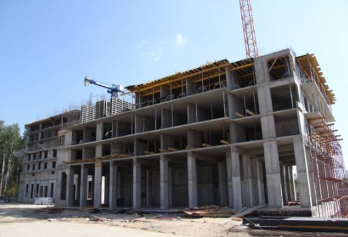 Строительство ЖК «Березовая роща», дом 2, корп. 2, июль 2014 г.