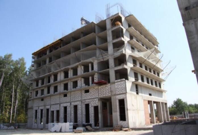 Строительство ЖК «Березовая роща», дом 2, корп. 3, июль 2014 г.