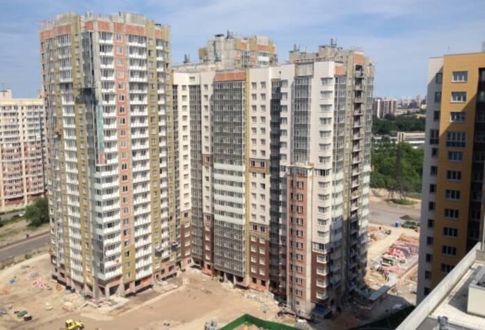 Строительство ЖК «Триумф Парк», II очередь, июль 2014 г.