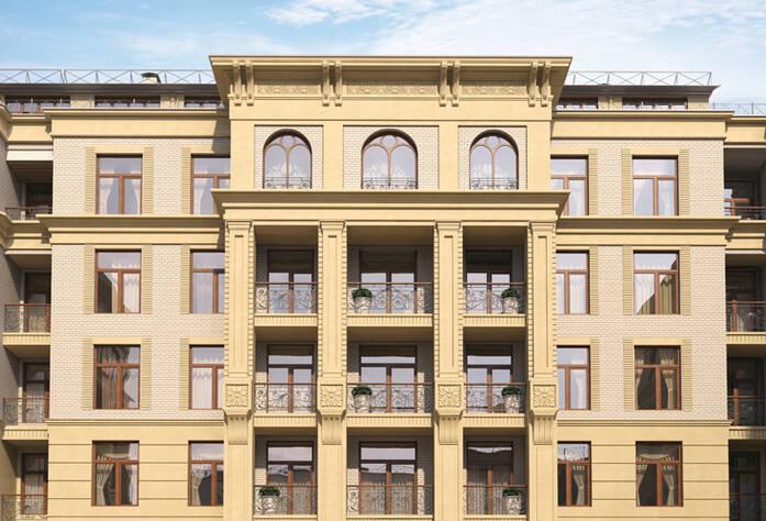 ЖК «Гранвиль» (внутренний фасад)
