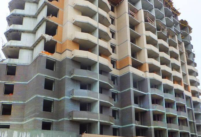 Строительство ЖК «Бумеранг» (сентябрь 2014 г.)н)1