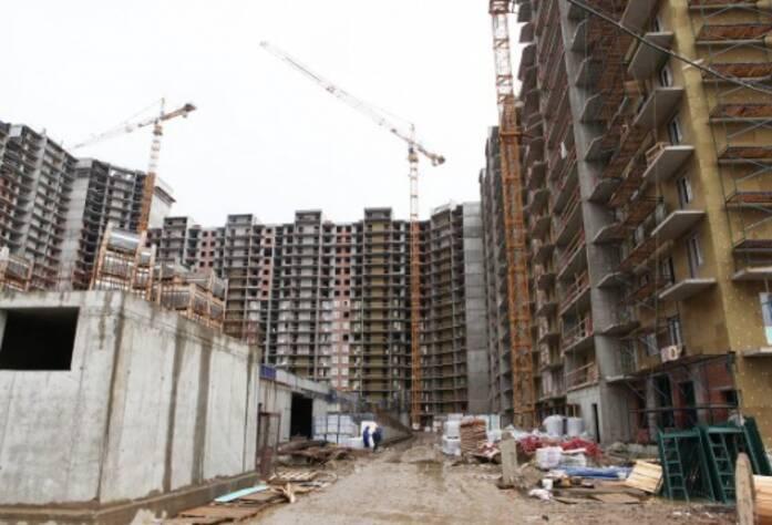 Строительство ЖК «Union» (август 2014 г.)