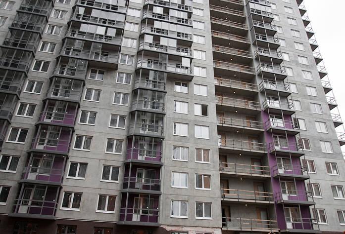Строительство ЖК«Эланд», сентябрь 2014 г., третья очередь