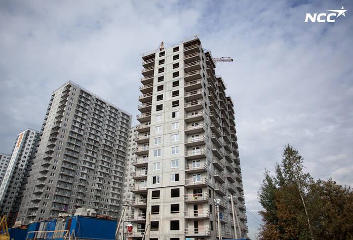 Строительство ЖК«Эланд», сентябрь 2014 г., четвертая очередь
