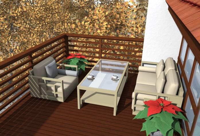 Дизайн-проект ЖК «Альпийская деревня»