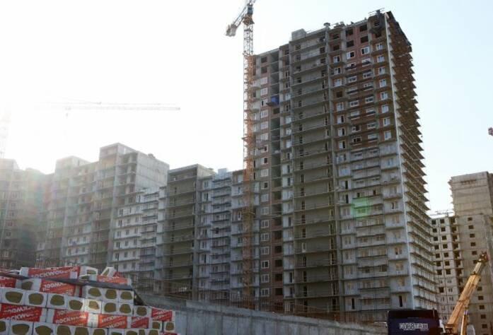Строительство ЖК «Union» (сентябрь 2014 г.)