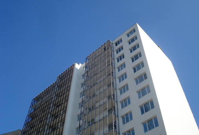Строительство ЖК «Семь столиц», квартал ВЕНА (сентябрь 2013)