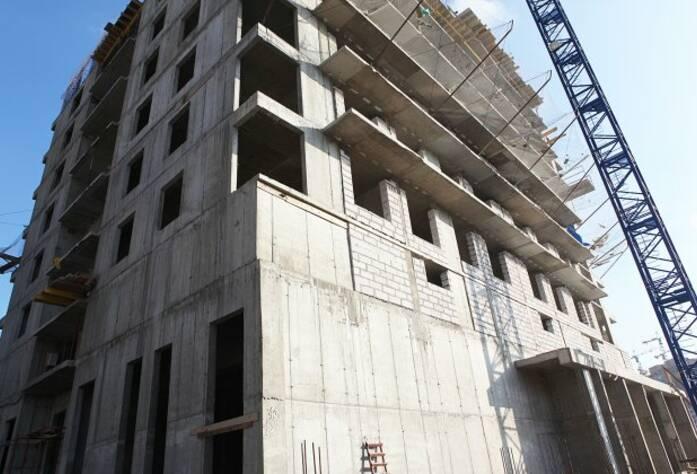 Строительство ЖК «Березовая роща» (сентябрь 2014)