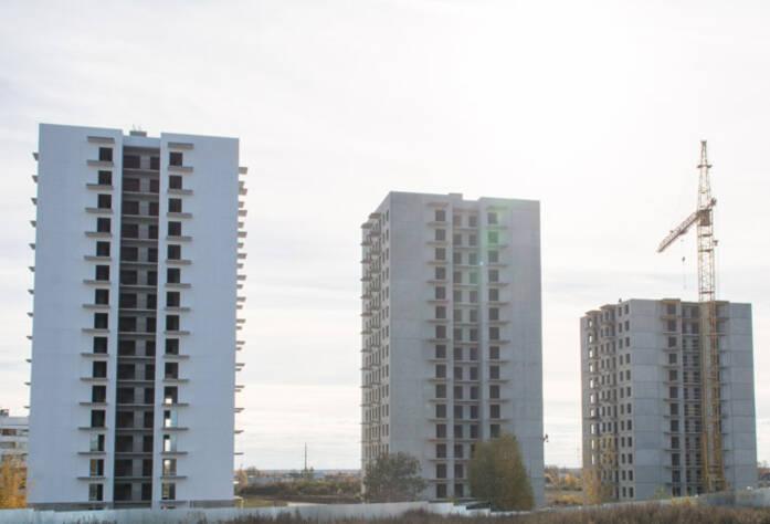 Строительство ЖК «Центральный» (октябрь 2014)