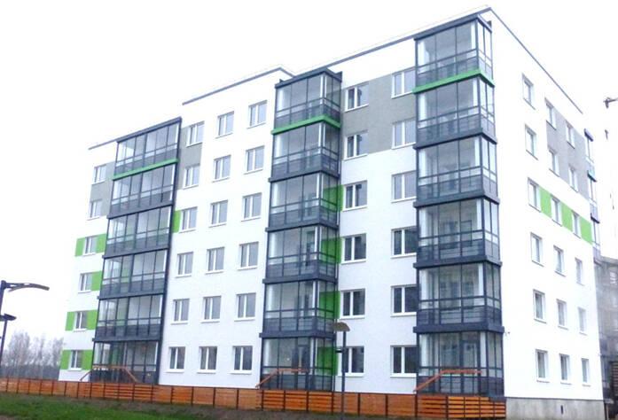 Строительство I очереди ЖК Gröna Lund (октябрь 2014)
