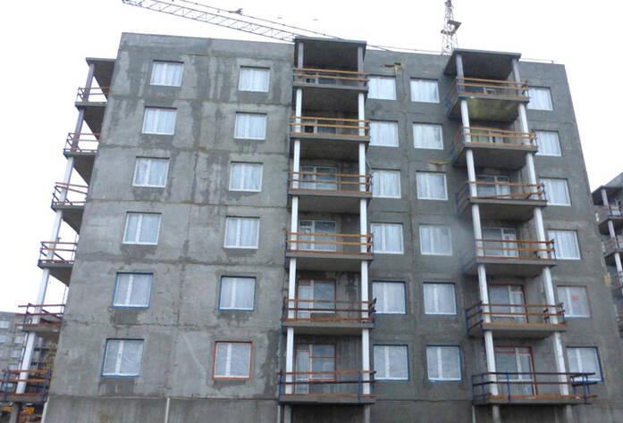 Строительство II очереди ЖК Gröna Lund (октябрь 2014)