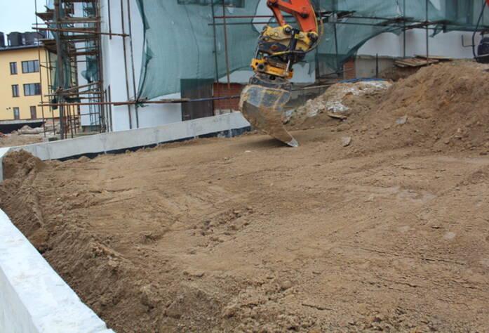 Строительство жилого микрорайона  «Mistola Hills» (октябрь 2014)