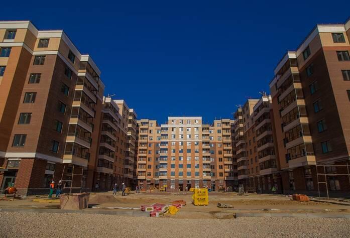 Строительство ЖК «NewПитер» (октябрь 2014)