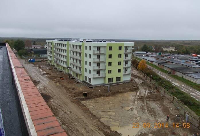 Строительство ЖК «Мандарин» (23.09.14)
