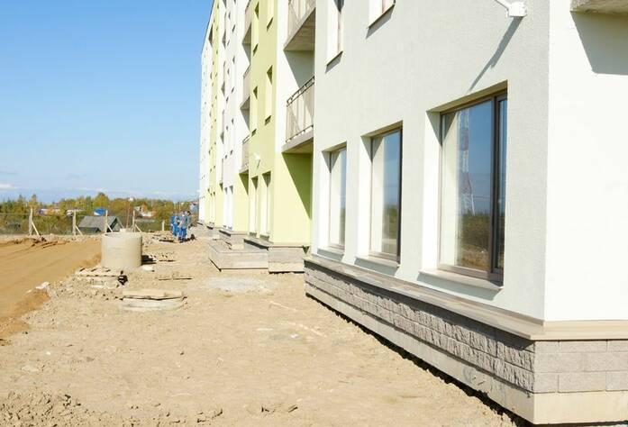 Строительство ЖК «Мандарин» (03.10.14)