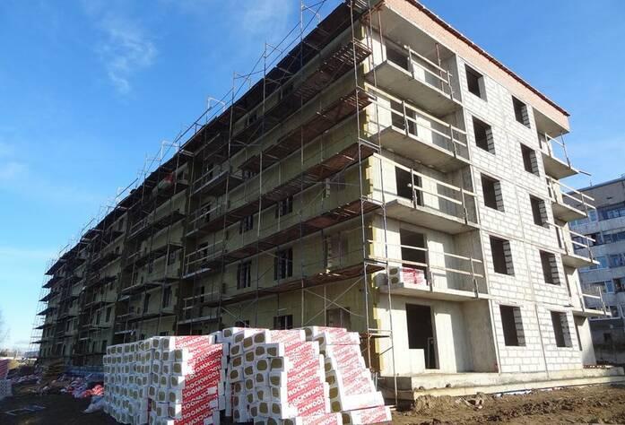 Строительство ЖК «Мандарин» (16.10.14)
