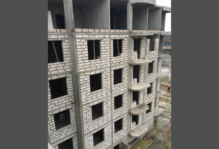 Строительство ЖК «Петергоф Парк» (ноябрь 2014)