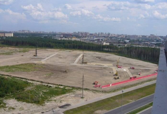 Строительство ЖК «Шуваловский» (11.08.14)